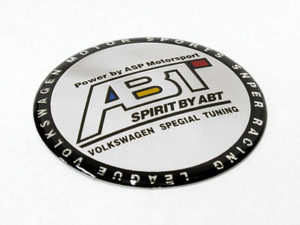ABT Tuning Wheel Center Cap Stickers (set of 4)-0