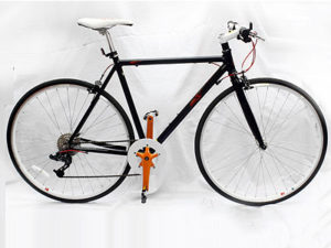 Black & Red Retro Bicycle-0