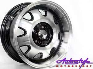 """15"""" GR5829 Classic Cup 4/100 Alloy Wheels-0"""