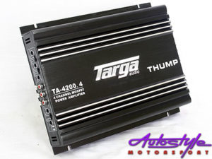 Targa Thump Series 4200w 4channel Amplifier-0