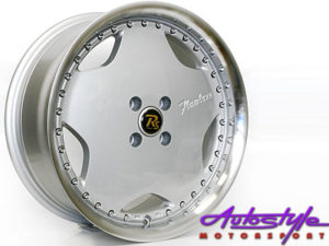 "19"" Flawless Touring 5/112 Silver Alloy Wheels-0"