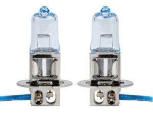 Ring Automotive Ice Blue H3 Headlamp Bulbs-0