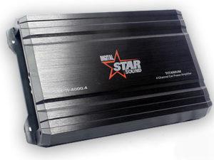 Starsound Digital SSA-T1-4000 4channel Amplifier-0
