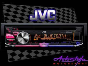 JVC KD-R971BT Mp3 Cd with Bluetooth and Multi-Color Display-0