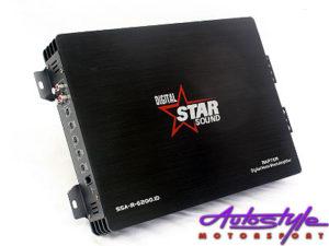 Starsound Rapter Series 6200w Monoblock Amplifier-0