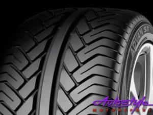 "255-50-17"" Yokohama Advan V802 Tyre-0"