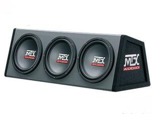 """MTX Triple 10"""" Subwoofer & Enclosure Combo-0"""