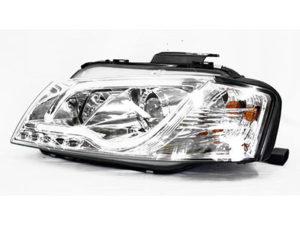 Audi A3 Chrome DRL Tube 03+ Headlights (pair)-0