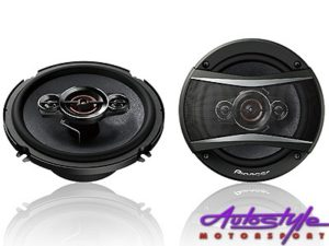 "Pioneer TS-A1686S 6.5"" 350w 4way Speakers-0"
