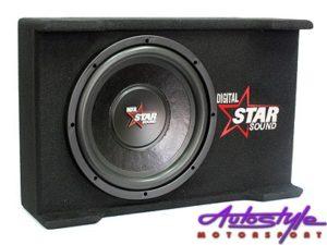 "Starsound 12"" 4100w Slimline Subwoofer & Compact Enclosure-0"