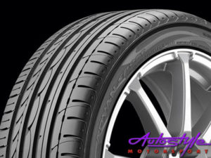 "235-60-18"" Yokohama Advan V103 Tyre-0"