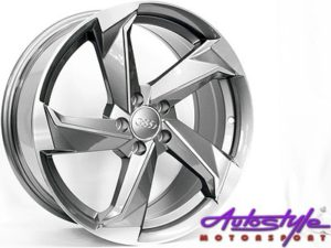 "17"" Evo CT1203 5/100 Alloy Wheels-0"