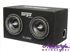 "Targa 6"" Twin Subwoofer & Enclosure Combo-0"