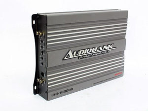 Audiobank IAB Series 4600w 1ch 2ohm Amplifier-0