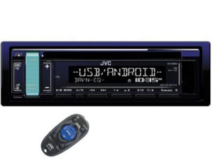 JVC KD-R489 Mp3 Cd with USB/Aux-0