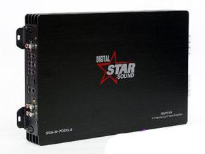 Starsound Rapter Series 7000w 4channel Amplifier-0