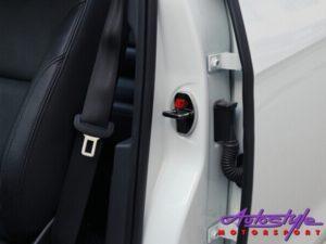 Chrome Door Lock Protective Covers (Toyota)-0