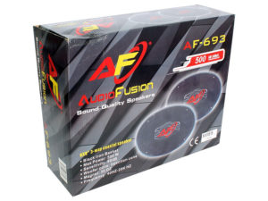 """AudioFusion 6x9"""" 500w 3way Speakers-26092"""