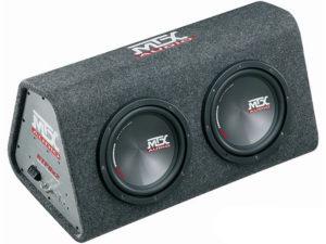 """MTX RTP8X2 Double 8"""" Sub & Amplifier Enclosure Combo-0"""