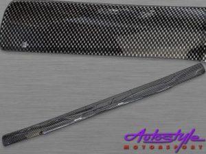 Carbon Look Bonnet Shield for Isuzu 2016up-0