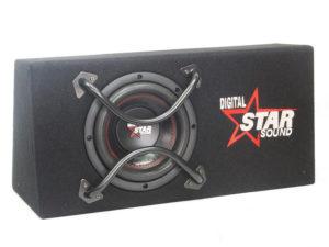 "Starsound SSW-B8-4600 8"" Subwoofer with Enclosure-0"
