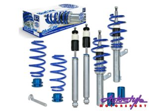 JOM Blue Line Coilover Suspension Kit for VW Polo 9N-0