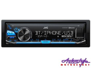 JVC KD-X341BT Mp3 with Bluetooth/USB Media Receiver-0
