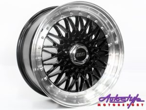 "17"" BSS 5/100 & 5/114 Black Alloy wheels-0"
