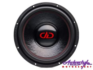 "Digital Designs DD212-D4 10"" 300w RMS Subwoofer-0"