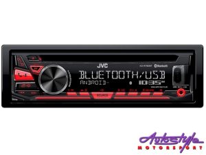 JVC KD-R780BT Mp3 Cd Front loader with USB/Bluetooth-0
