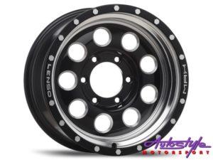 "17"" Lenso Max-X07 6/139 Alloy Wheels-0"