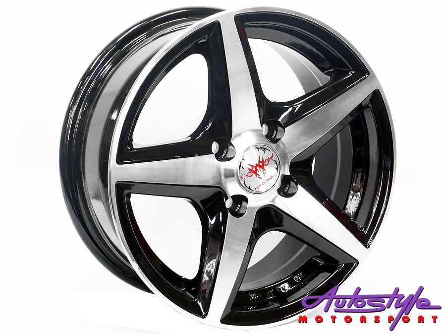 "14"" MM 1833 4/100 MB Alloy Wheels-0"