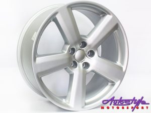 "19"" Evo MT008 5/112 Silver Alloy Wheels-0"