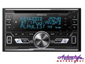 Kenwood DPX5100BT Double Din CD with Bluetooth-0