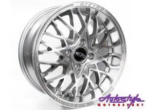 """15"""" Evo Osaka 4/100 Grey Alloy Wheels-0"""