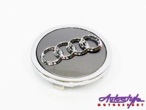 Audi 90mm Wheel Center cap Badge-0