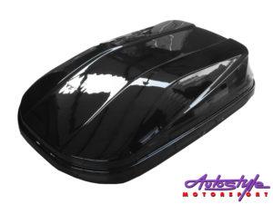 Evo Tuning Roof Storage Box (gloss black) -0