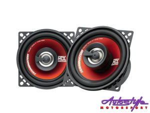 "MTX Thunder Series 4"" 180w coaxial speakers-0"