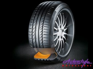 "225-45-17"" Continental Runflat Tyres-0"