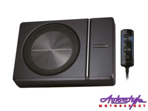 "Kenwood KSC-PSW8 8"" Compact Subwoofer with Built in Amplifier-0"