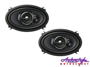 "Pioneer TS-A4633I 4x6"" 3way Coaxial Speakers-0"
