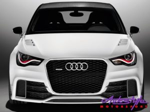 Audi A1 13+ RS Style Gloss Black & Chrome Grill -29942