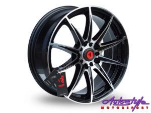 "17"" Lenso SC07 4/100 & 4/114 BKMF Alloy Wheels-0"