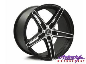 "18"" Lenso CQ6 5/120 BKMF Alloy wheels-0"