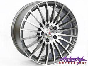 "20"" Lenso X05 5/120 GM Alloy Wheels-0"