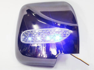 Toyota Quantum Chrome Mirror Covers with LED-0