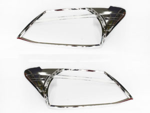 Isuzu D-Max 2013+ Chrome headlight trim-0