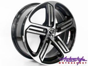 "15"" Evo BK795 5/100 Alloy Wheels-0"