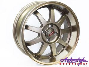 "16"" Evo Copp 4/100 Alloy Wheels-0"