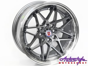 "15"" Evo HR 4/100 & 4/114 Grey Alloy Wheels-0"